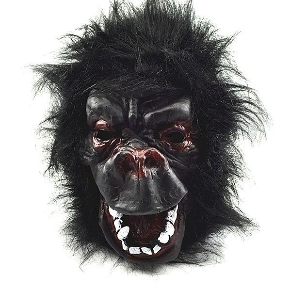 sc 1 st  Photo Booth Props & Fancy Dress Costume Gorilla Head Mask