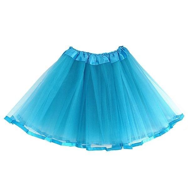 Best way to make tutu skirt with ribbon trim