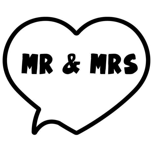 photo booth speech bubble template - 39 mr mrs 39 heart bubble photo booth prop