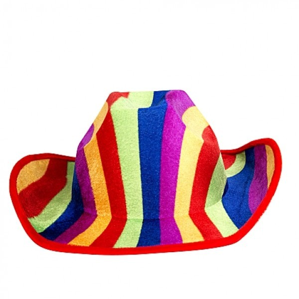 0a001904f Rainbow Cowboy Hat