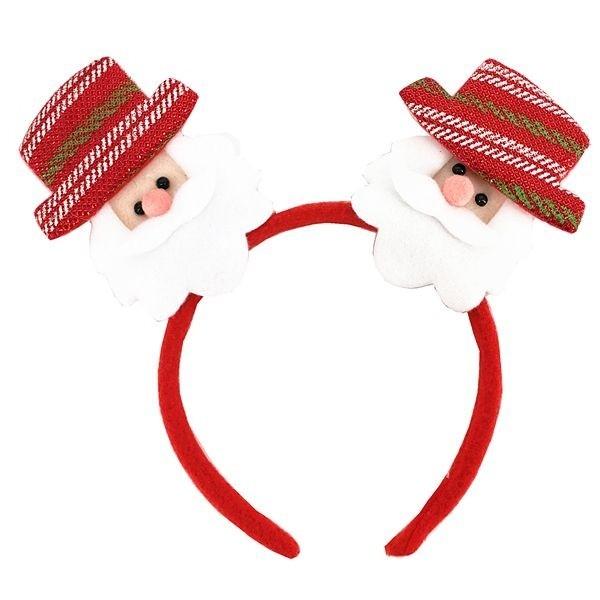 f282cc1888267 Top Hat Santa s Light Up Christmas Headband