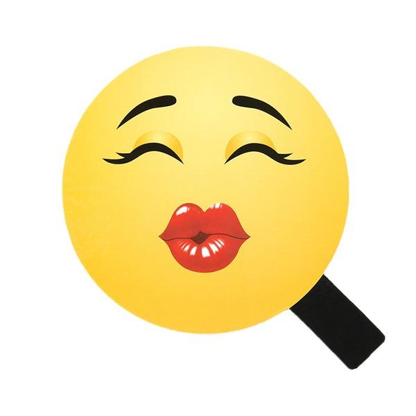 pucker up kissing emoji ebay