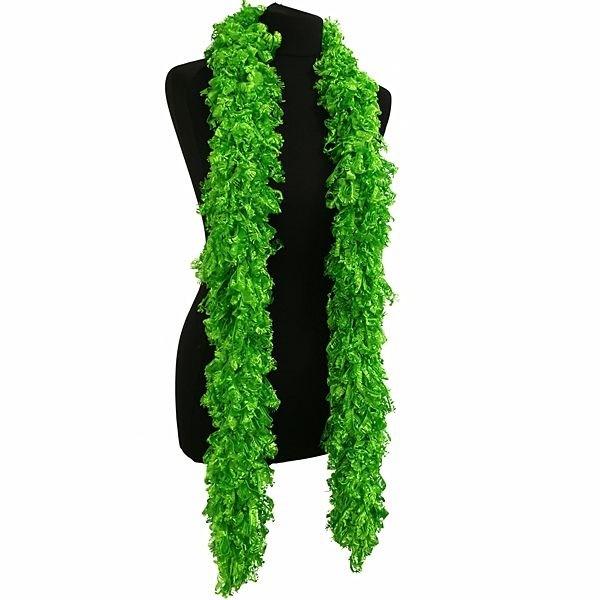 Gatsby Style Luxurious Green Featherless Boa Burlesque 1920/'s Flapper